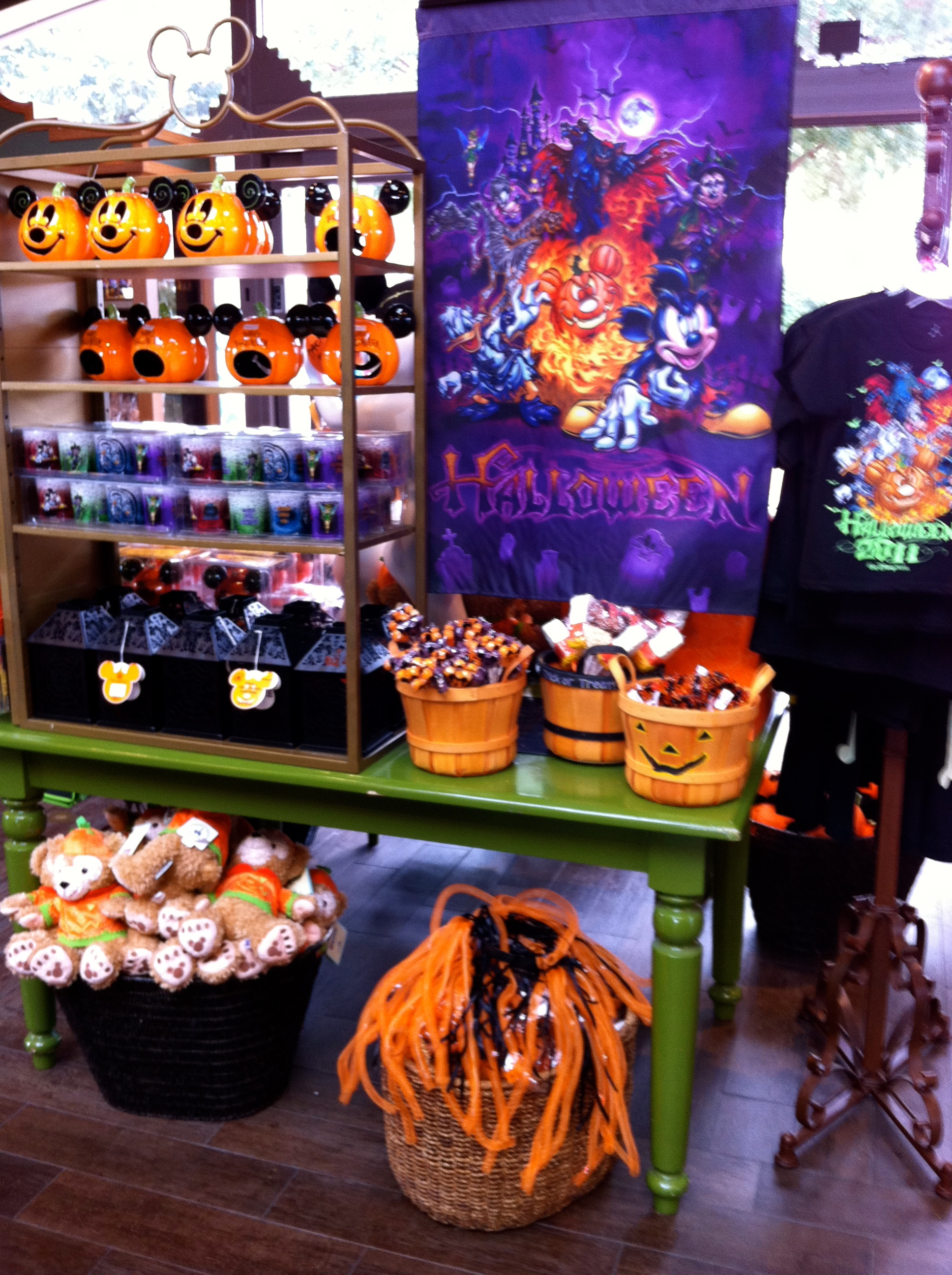 halloween merchandise is out!!! | disney chronicles