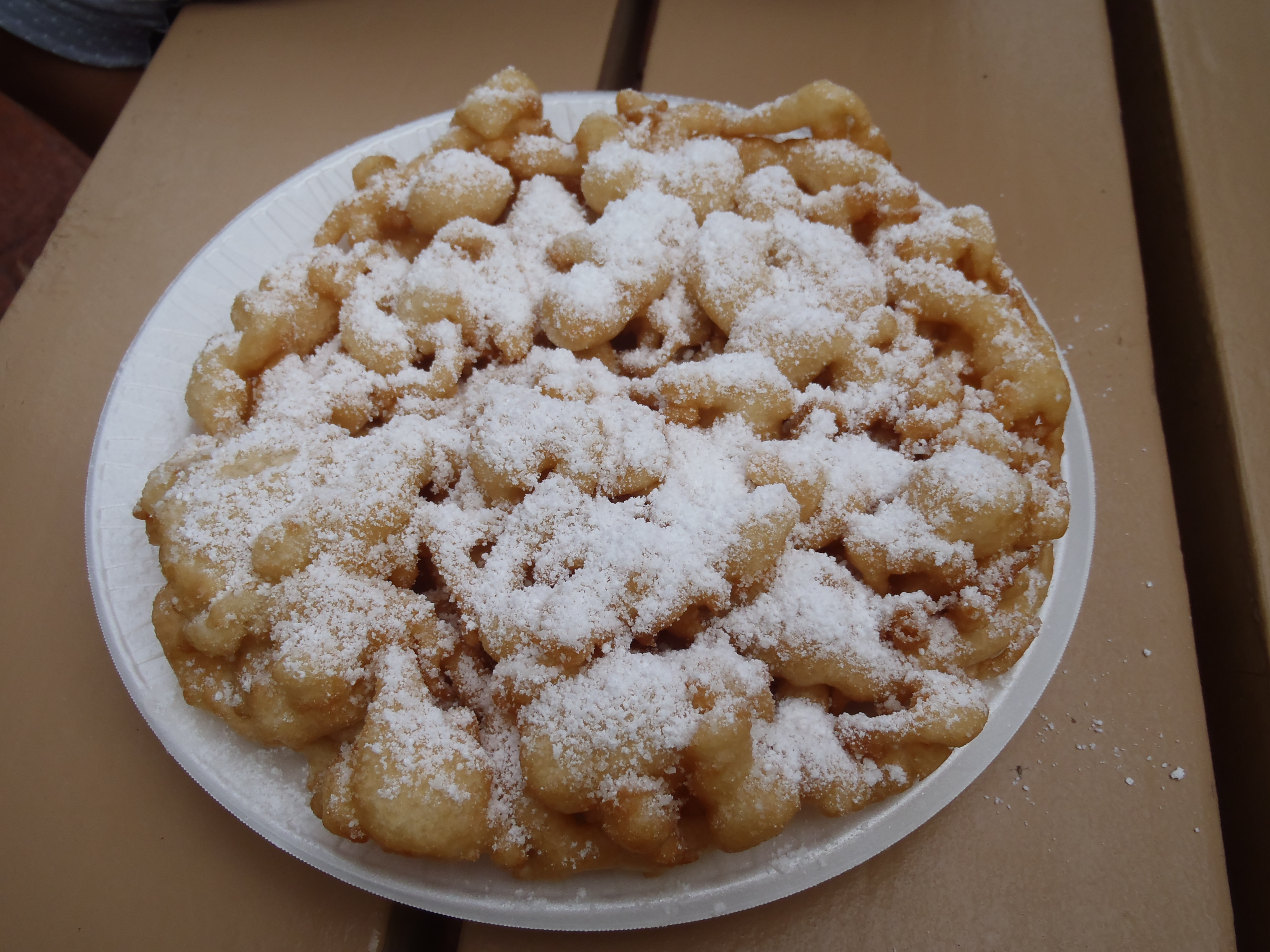 Funnel Cakes At Epcot Oh Yes Disney Chronicles